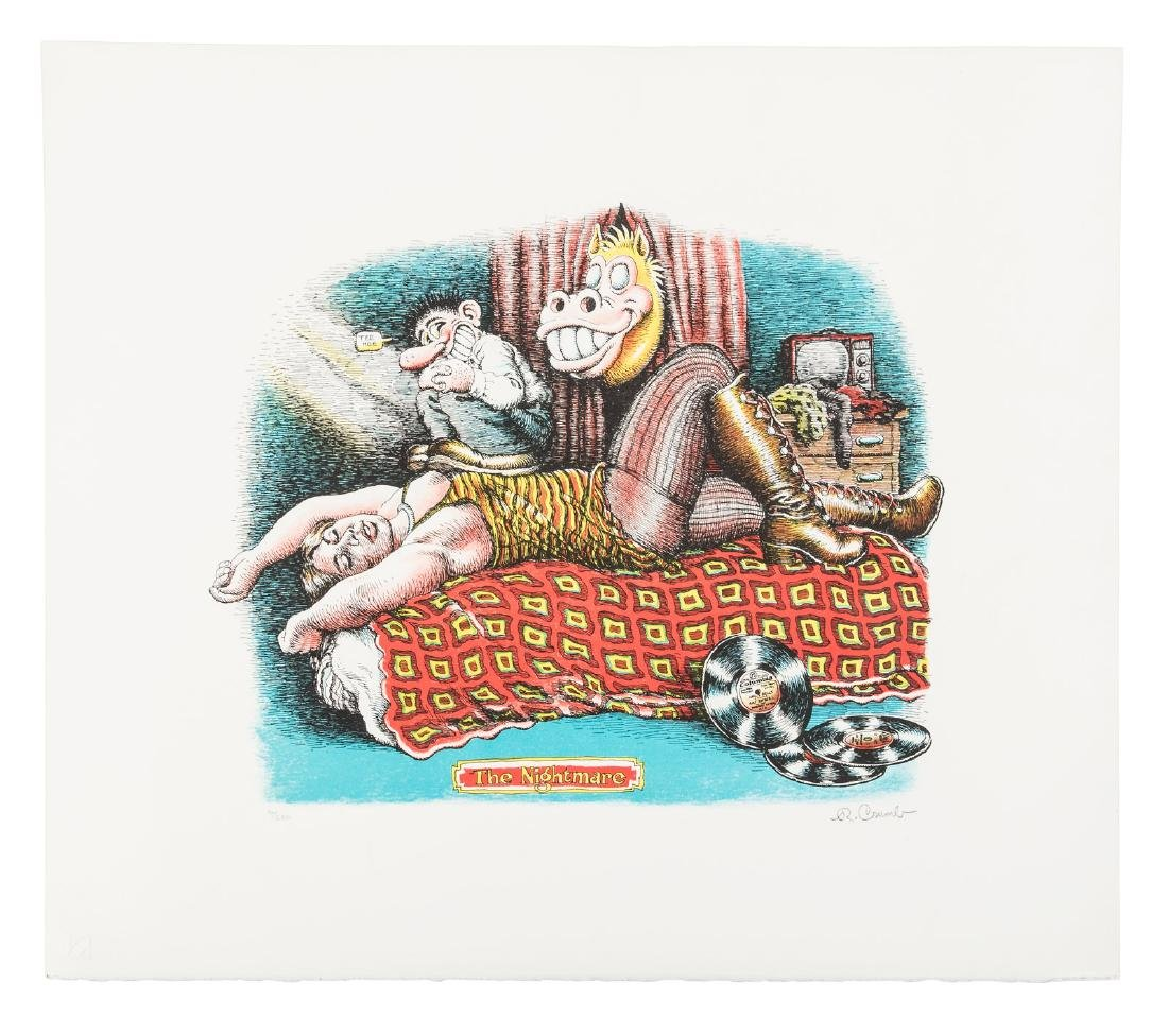 R. Crumb's Nightmare 1/250 printed in color