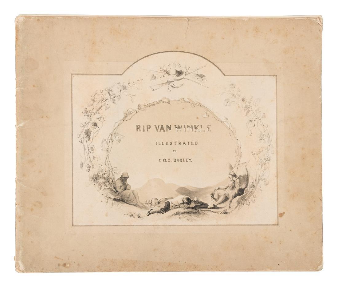 F.O.C. Darley illustrations for Washington Irving