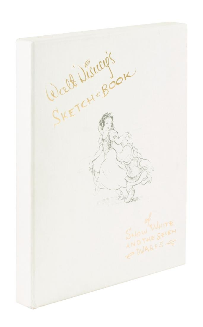 Disney's Snow White sketch book limited with extra