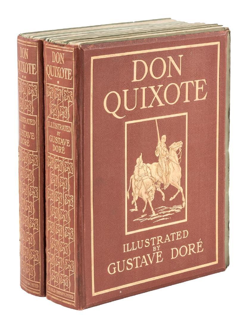 Dore's Don Quixote in the original parts