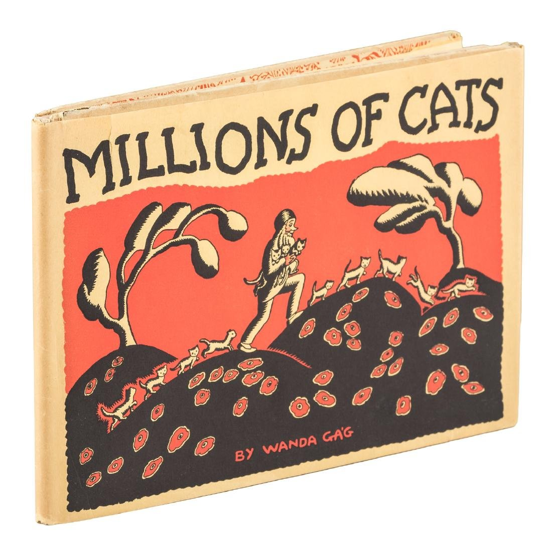 Millions of Cats signed and with dust jacket