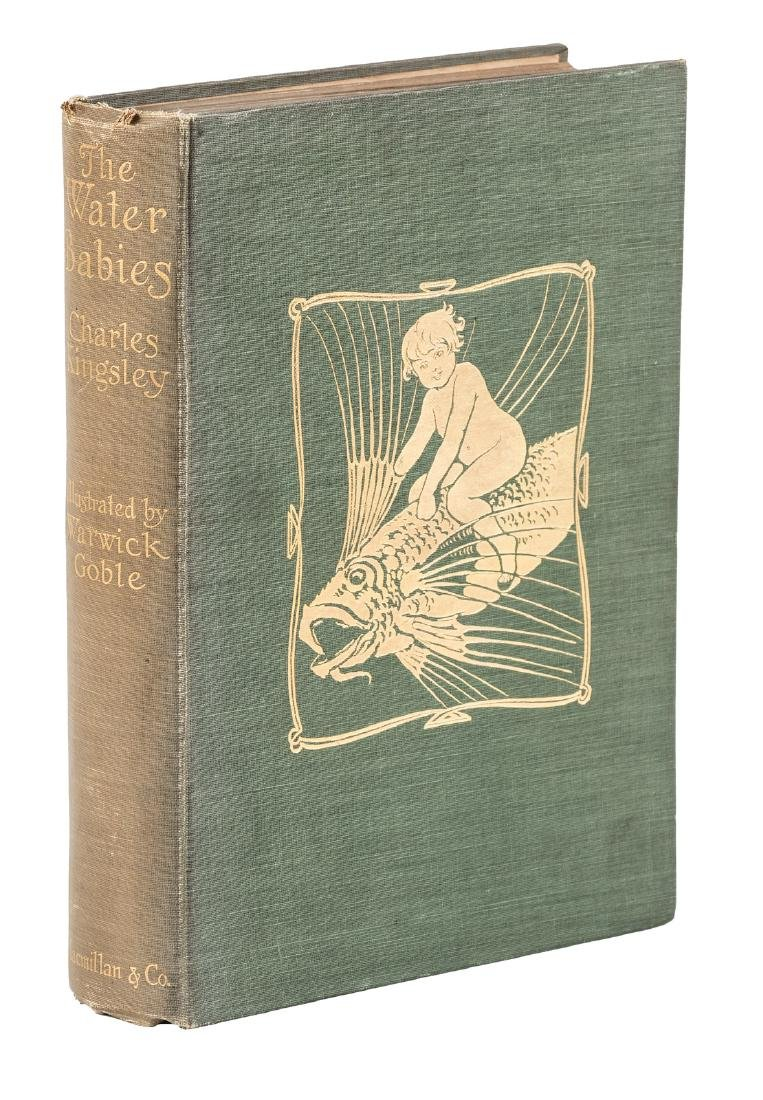 The Water-Babies with Warwick Goble Illustrations