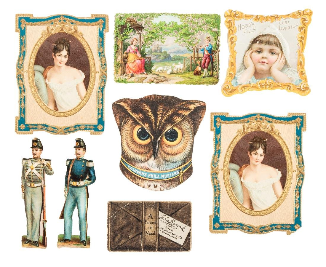 Collection of illustrated ephemera