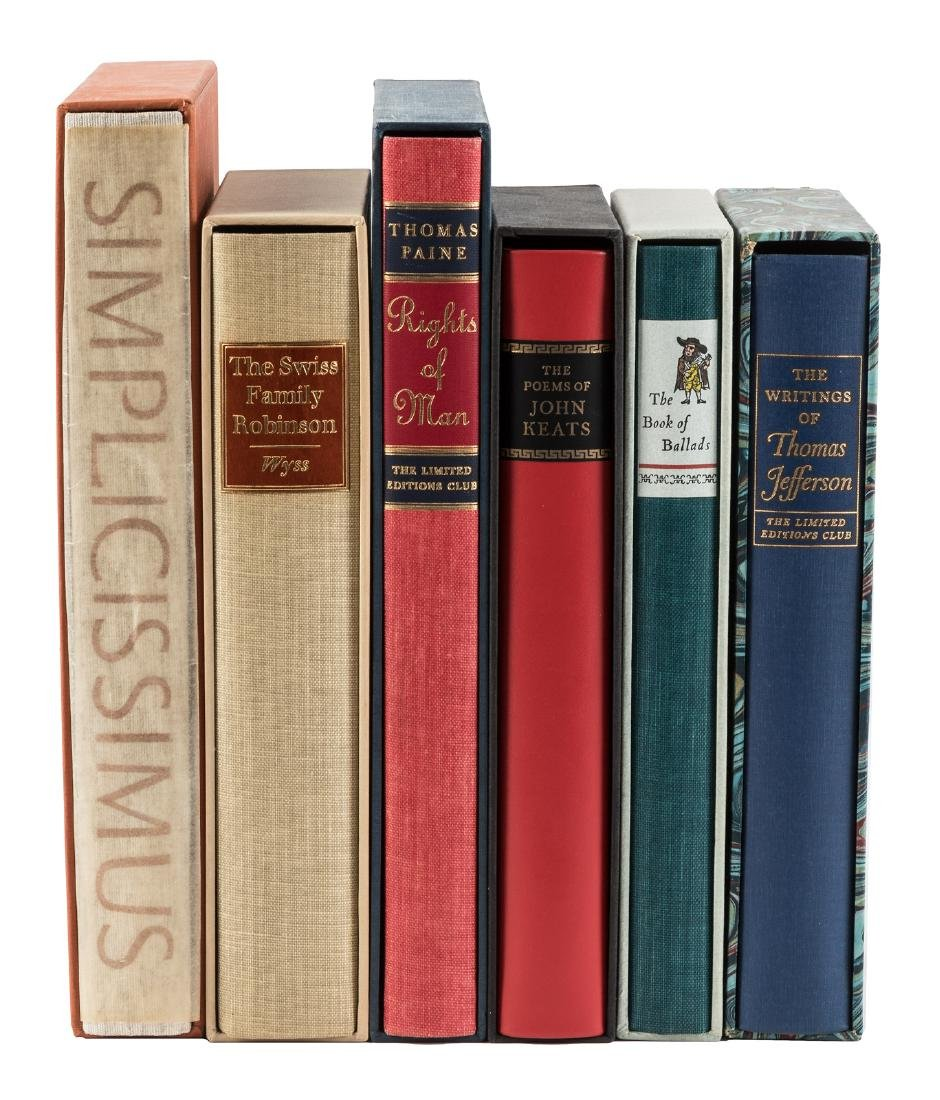 6 illustrated titles from the Limited Editions Club