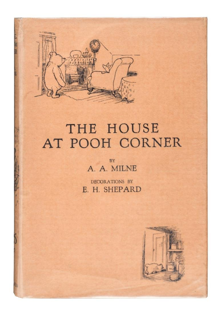 The House at Pooh Corner First Edition in jacket