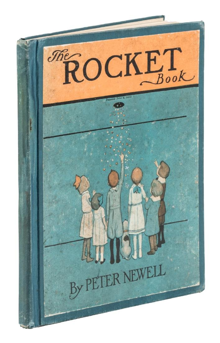 Peter Newell The Rocket Book 1st Edition