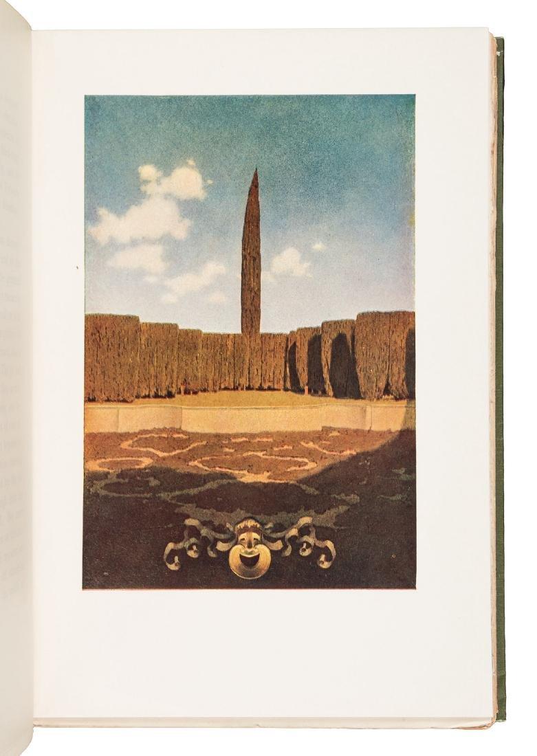Wharton's Italian Villas w/Maxfield Parrish 1904 - 10