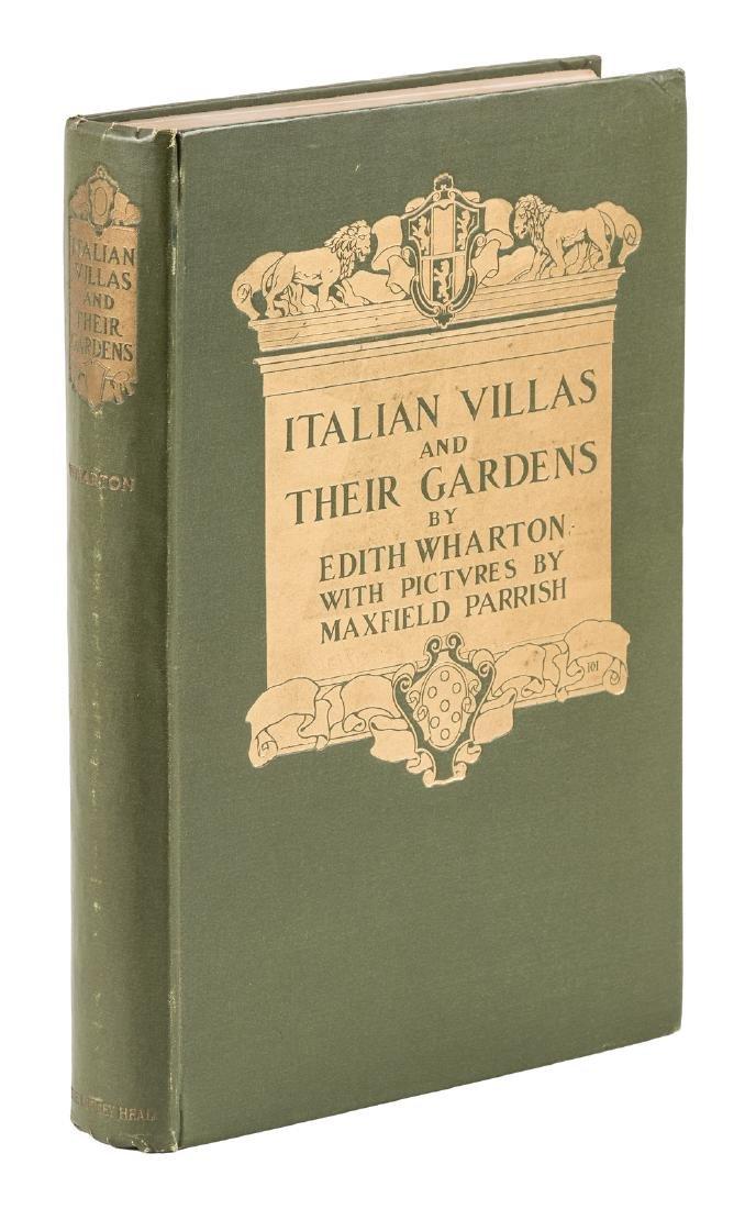 Wharton's Italian Villas w/Maxfield Parrish 1904