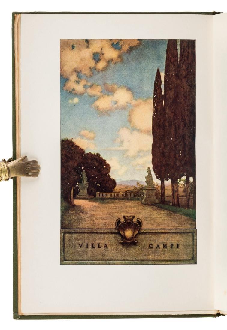 Wharton's Italian Villas w/Maxfield Parrish 1904 - 2