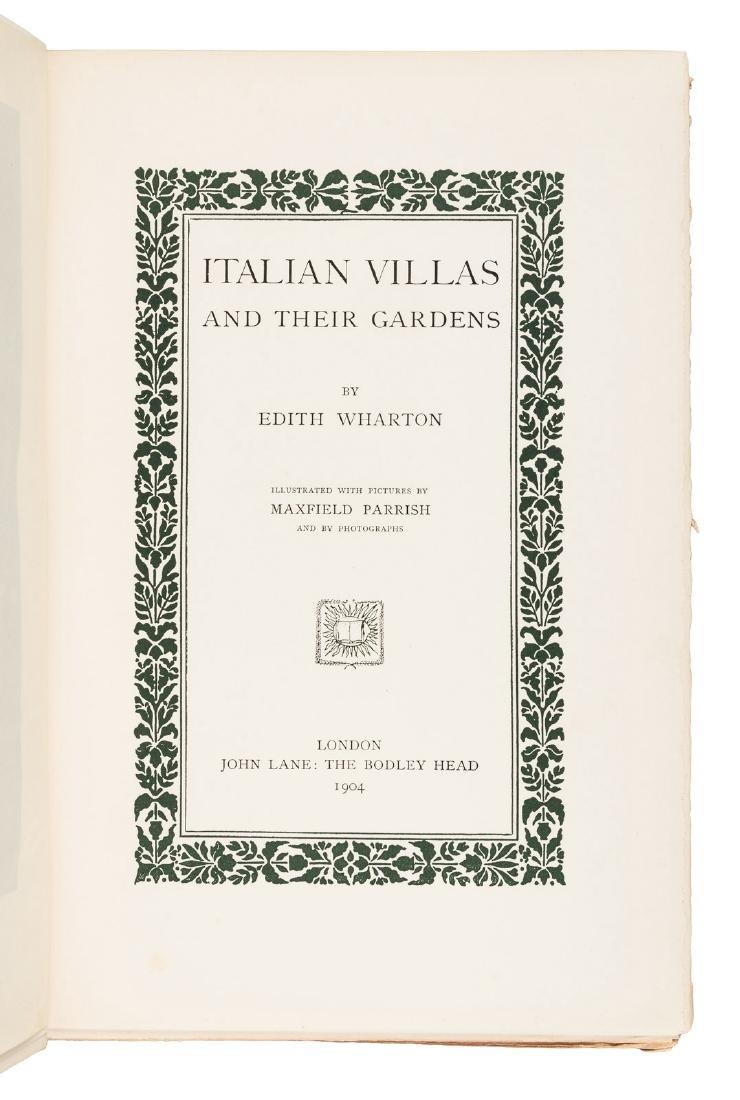 Wharton's Italian Villas w/Maxfield Parrish 1904 - 3