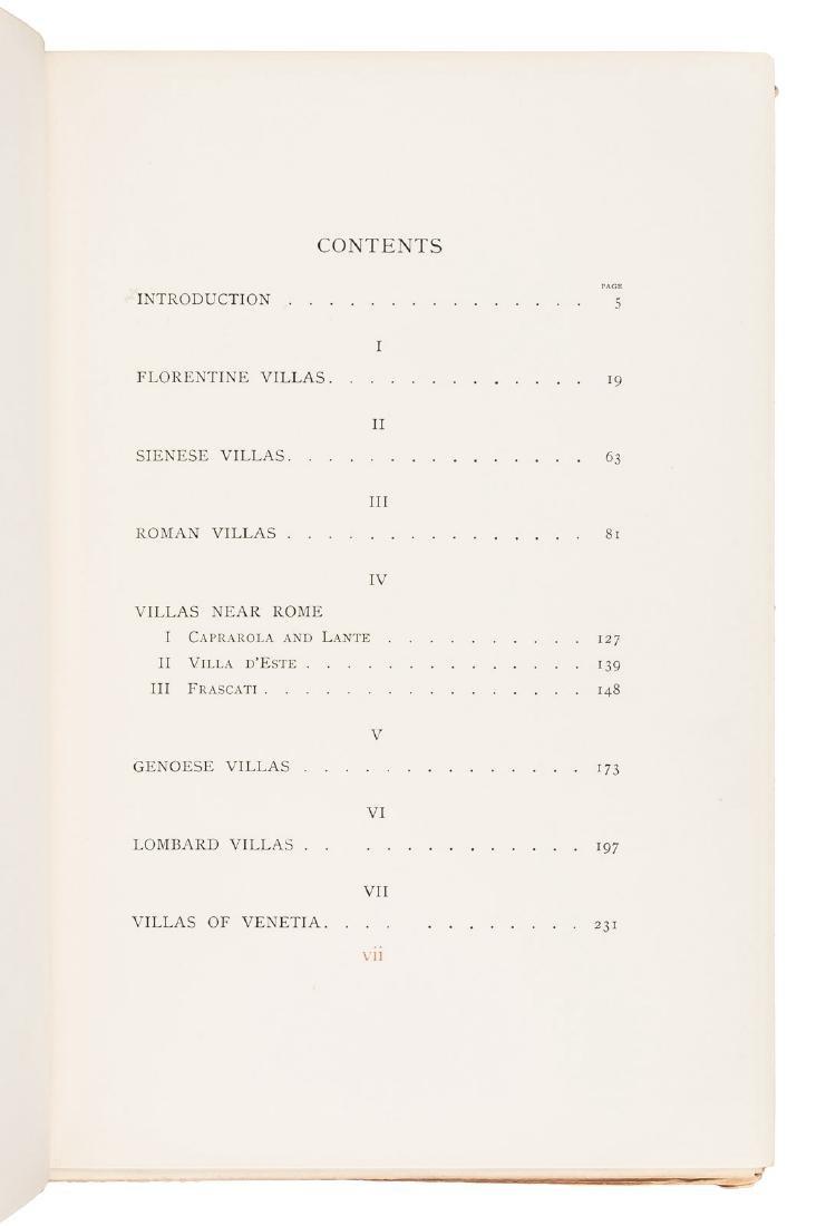 Wharton's Italian Villas w/Maxfield Parrish 1904 - 4