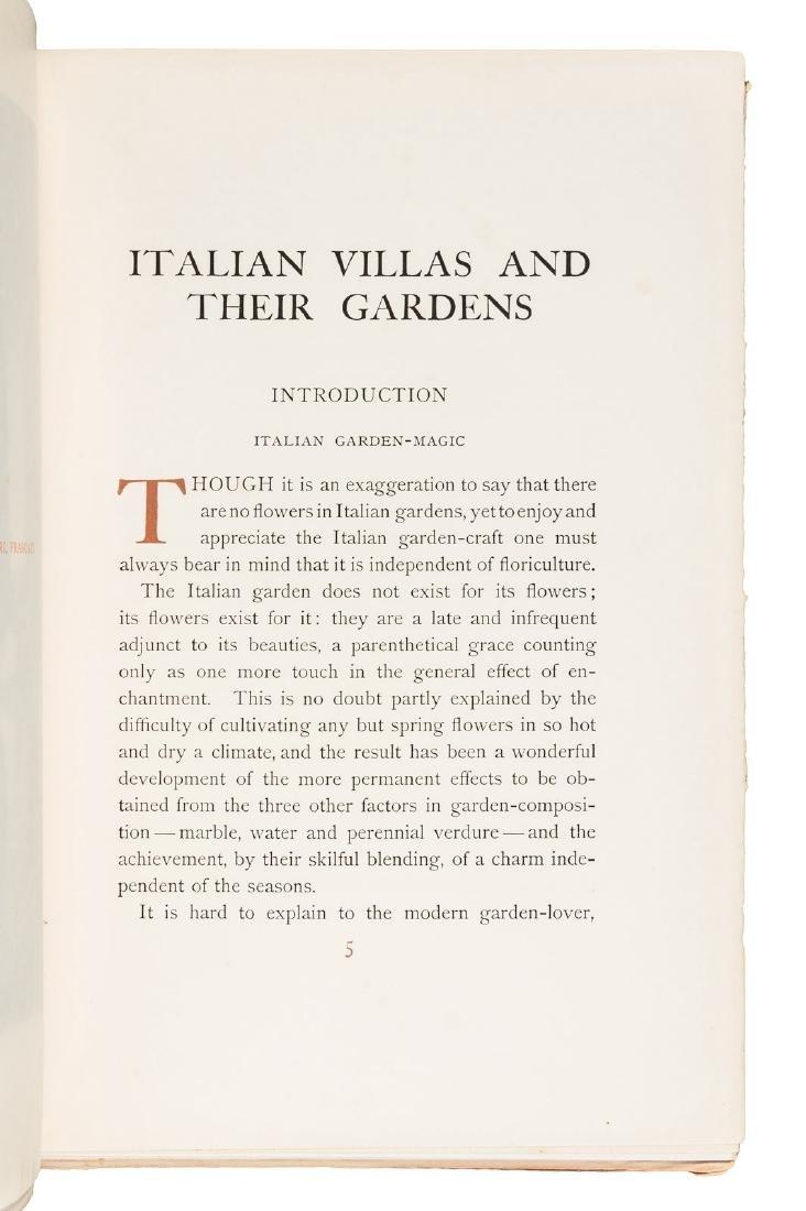 Wharton's Italian Villas w/Maxfield Parrish 1904 - 5