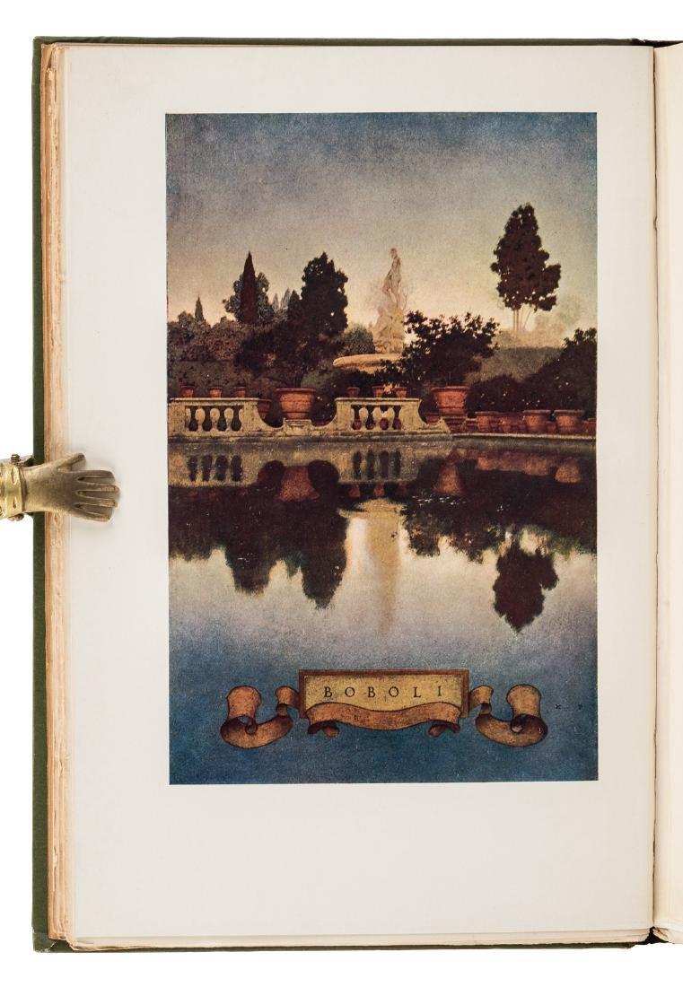 Wharton's Italian Villas w/Maxfield Parrish 1904 - 7