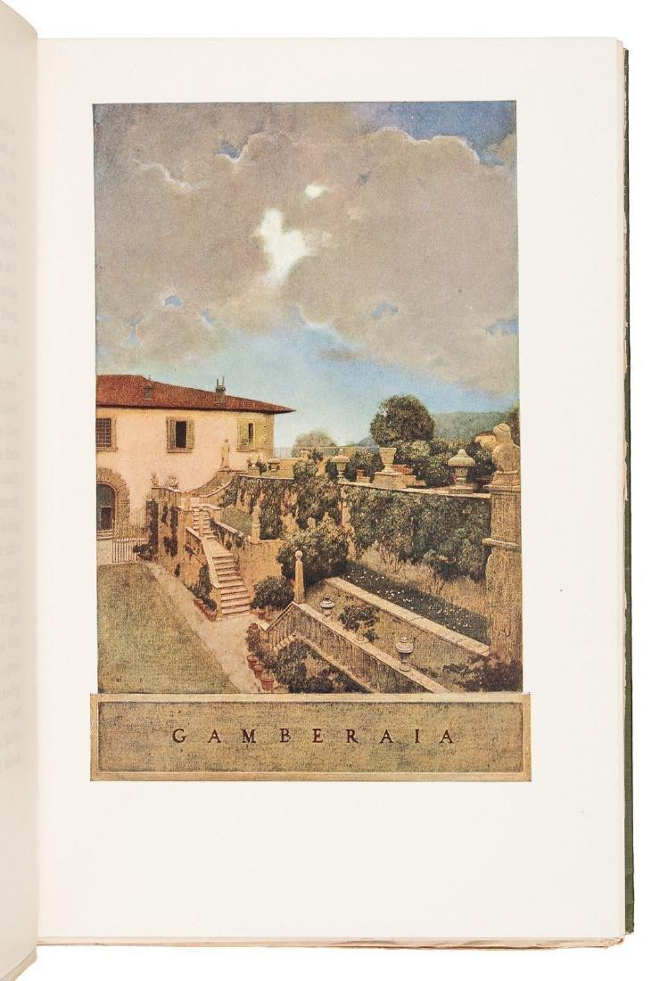 Wharton's Italian Villas w/Maxfield Parrish 1904 - 8