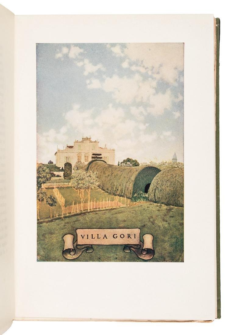 Wharton's Italian Villas w/Maxfield Parrish 1904 - 9