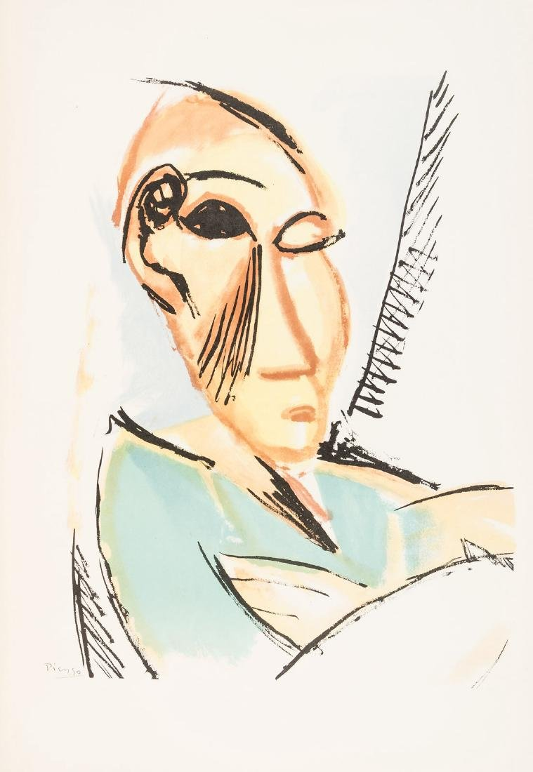 Picasso's Fifteen Drawings with color plates
