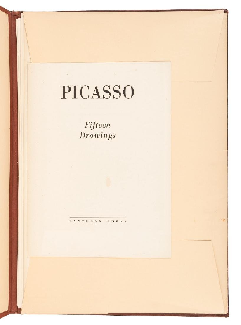 Picasso's Fifteen Drawings with color plates - 2