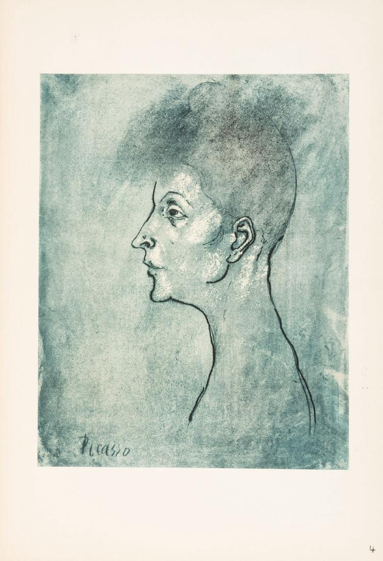 Picasso's Fifteen Drawings with color plates - 6
