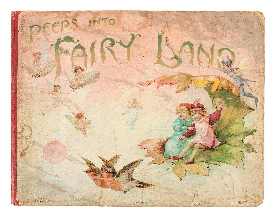 Peeps into Fairy Land Rare Victorian Pop-up