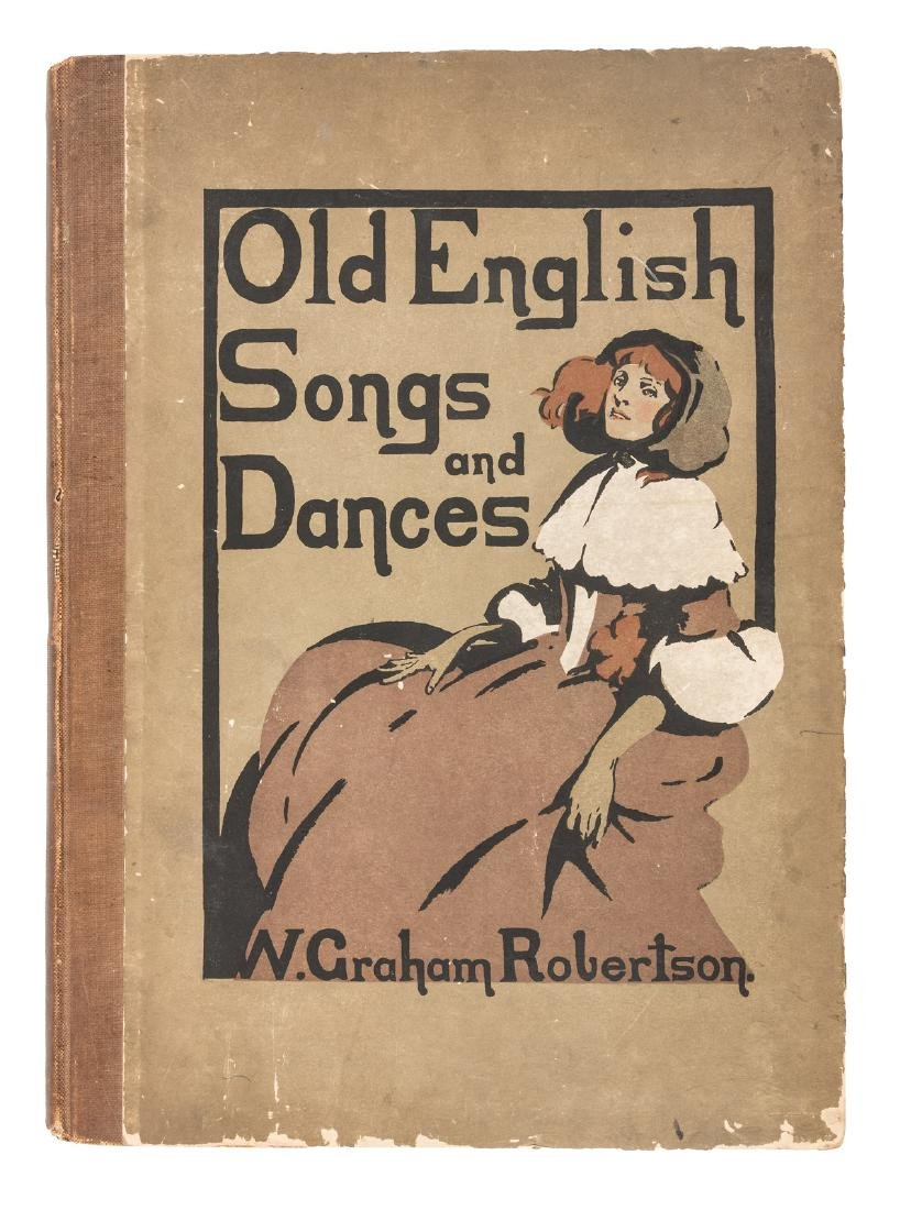 Old English Songs and Dances inscribed, 1902