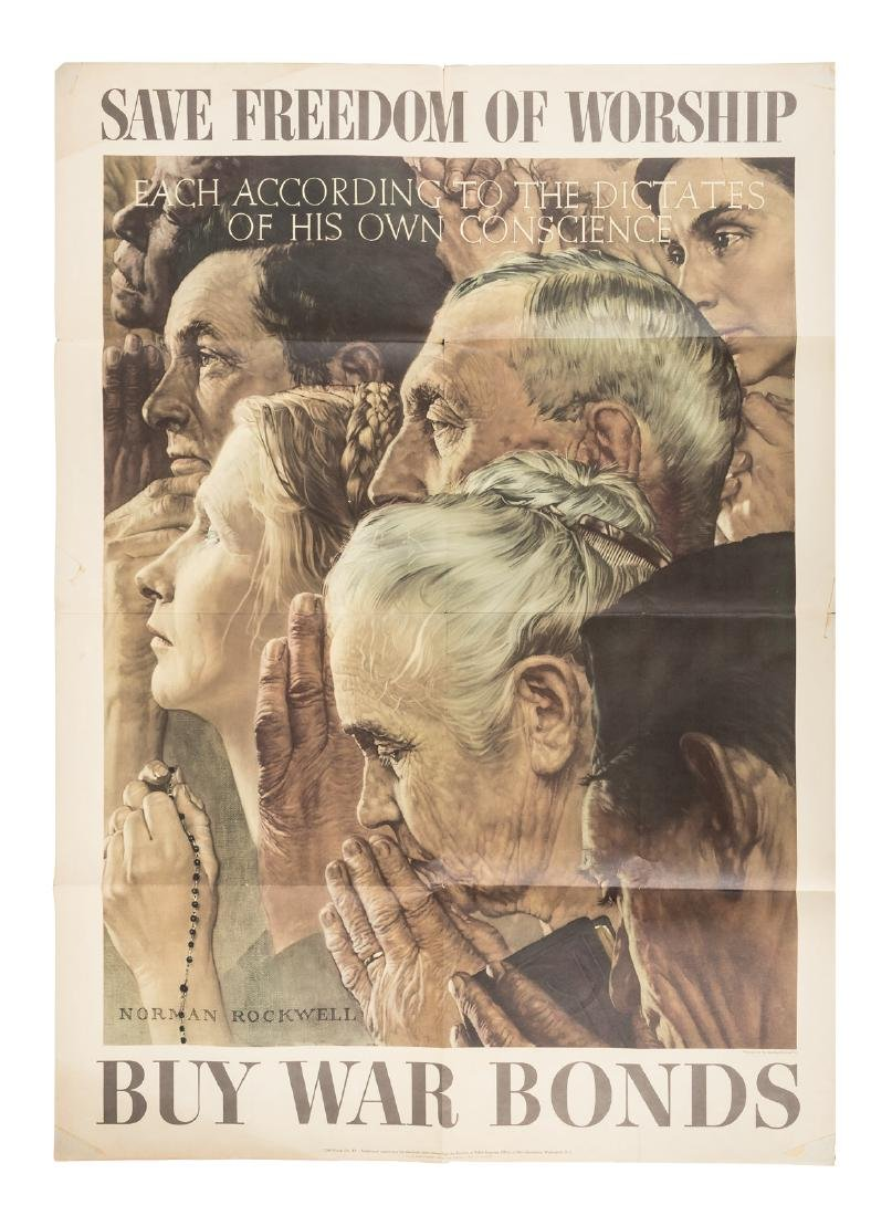 Norman Rockwell's Four Freedoms posters