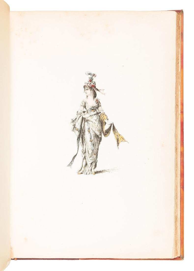 Colored costume plates of French Revolution - 2