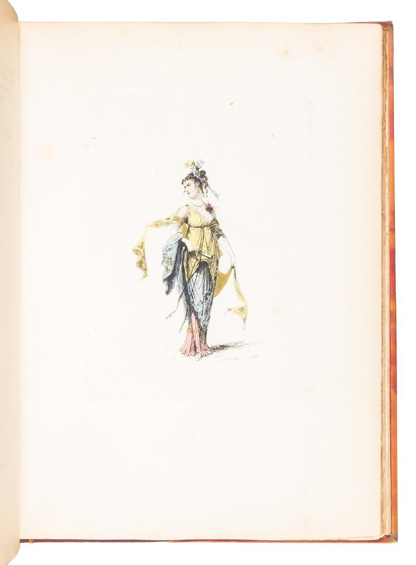 Colored costume plates of French Revolution - 3