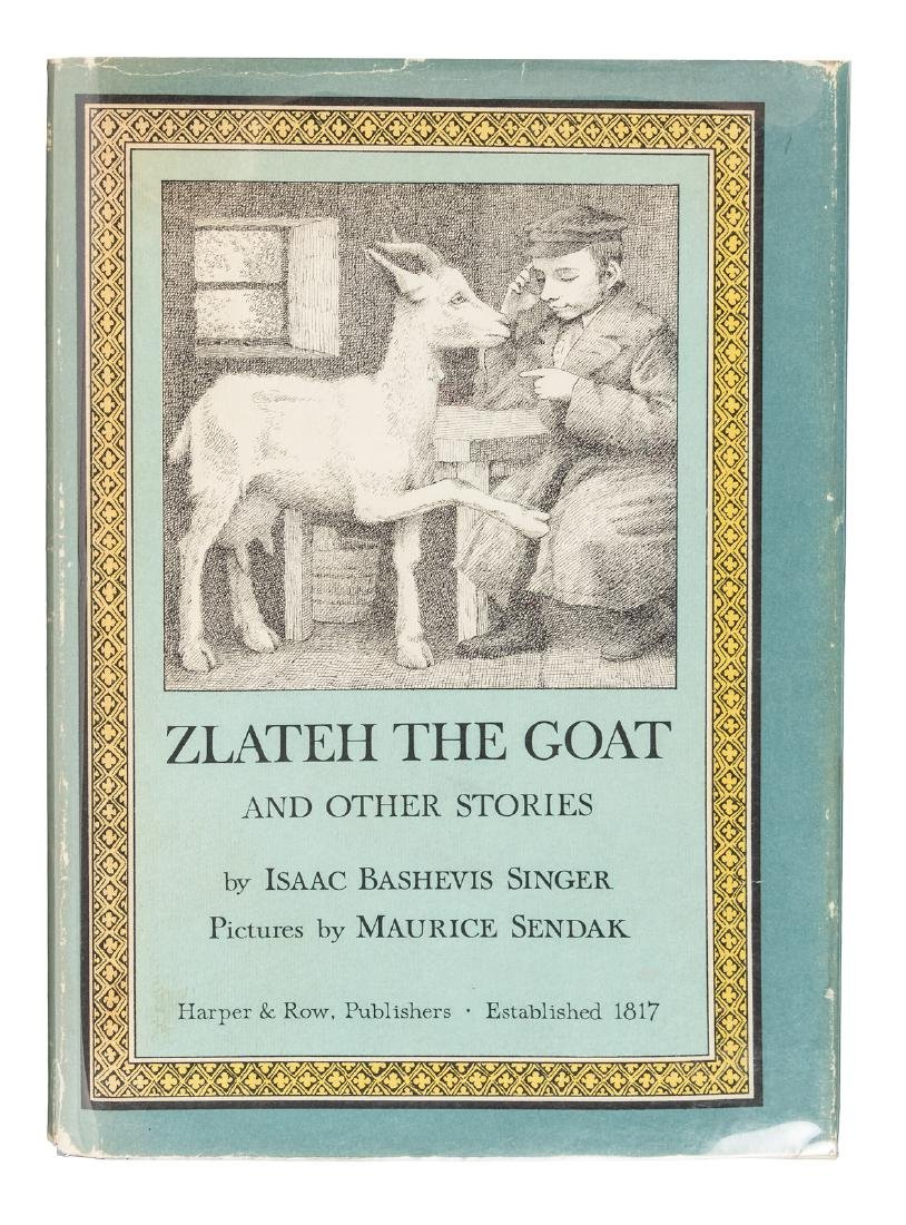 Zlateh the Goat signed by Maurice Sendak