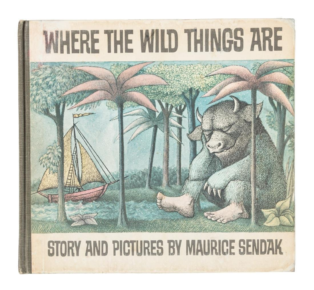 Where the Wild Things Are 2nd issue jacket