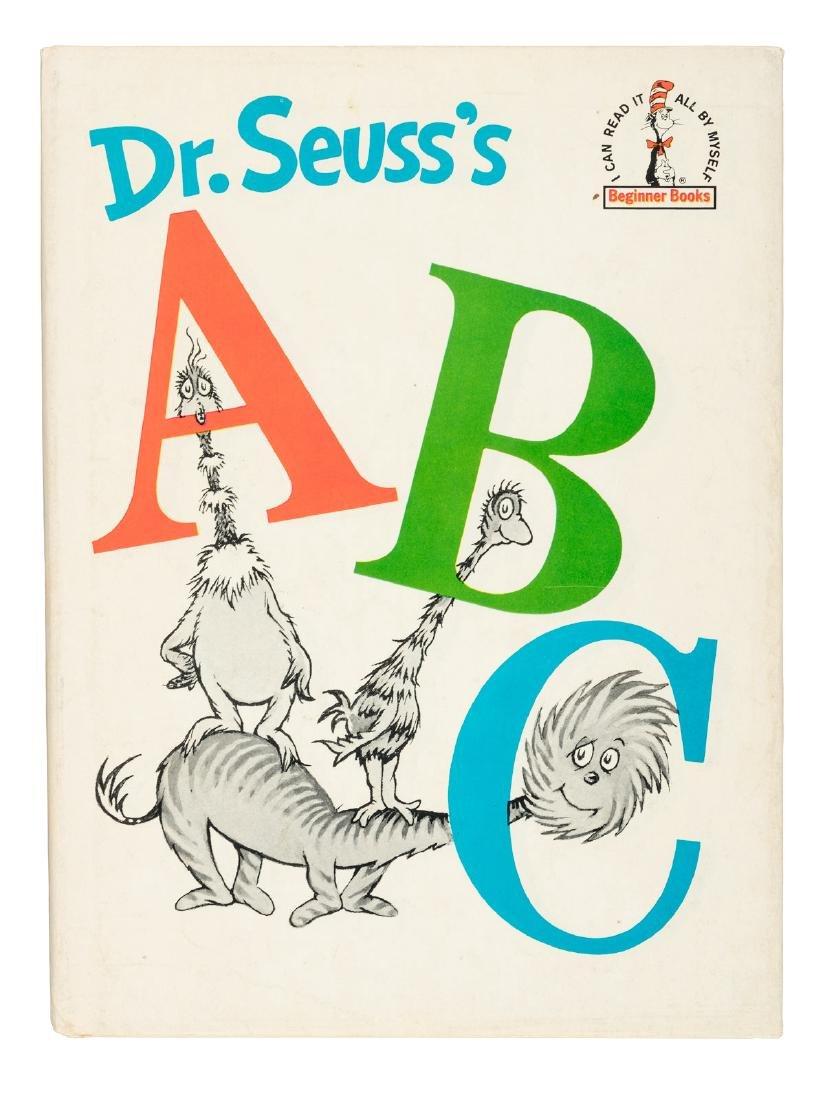 Dr. Seuss's ABC 1st w/jacket