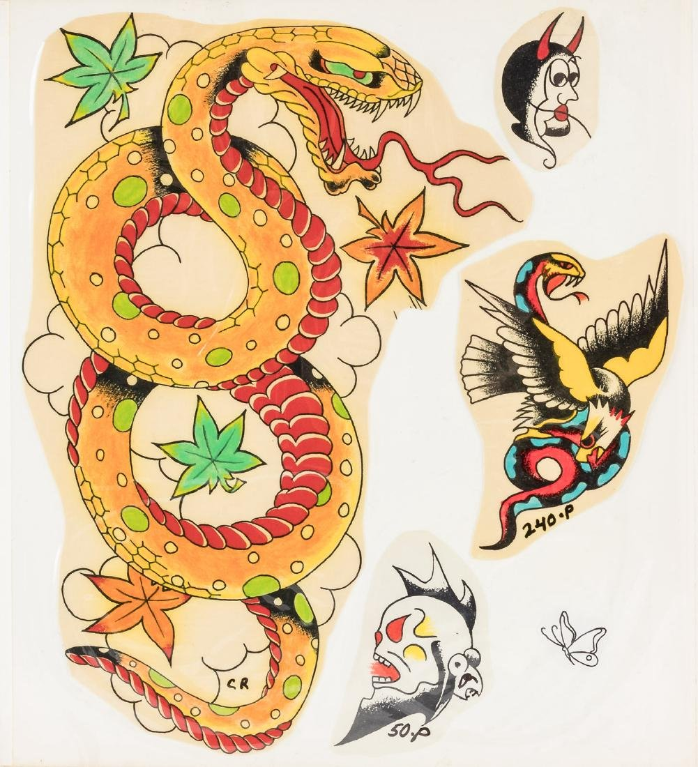 Over 200 designs for tattoos