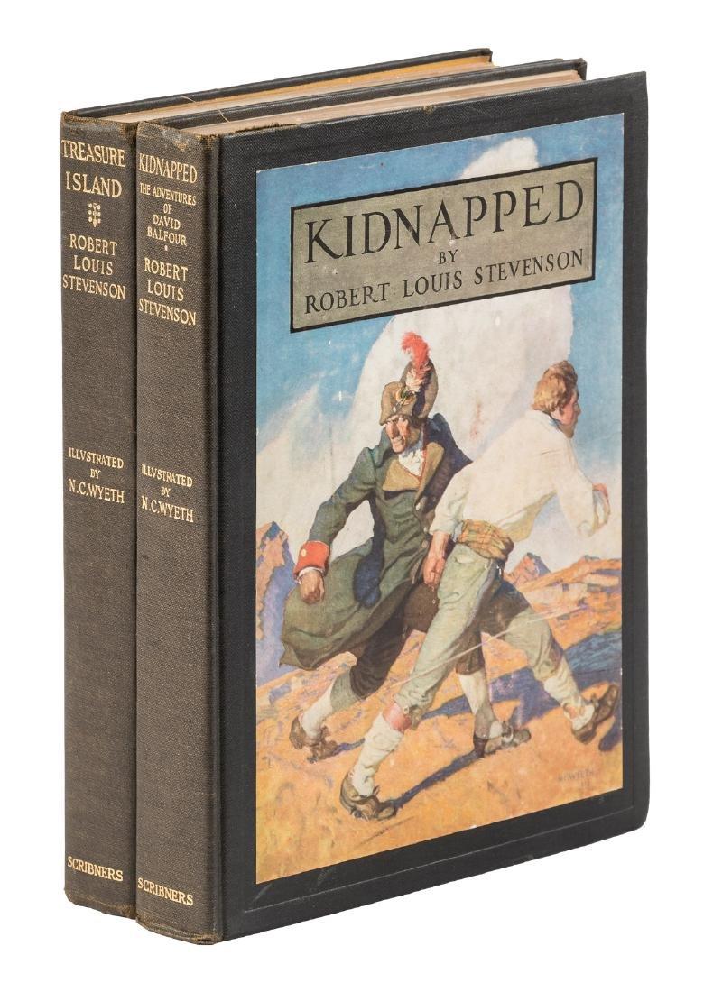 N.C. Wyeth illustrates Treasure Island & Kidnapped