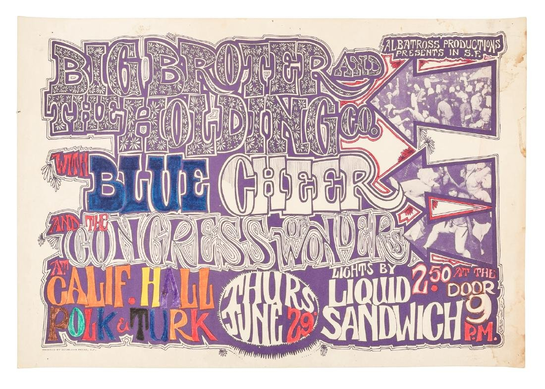 Big Brother and the Holding Company at California Hall,