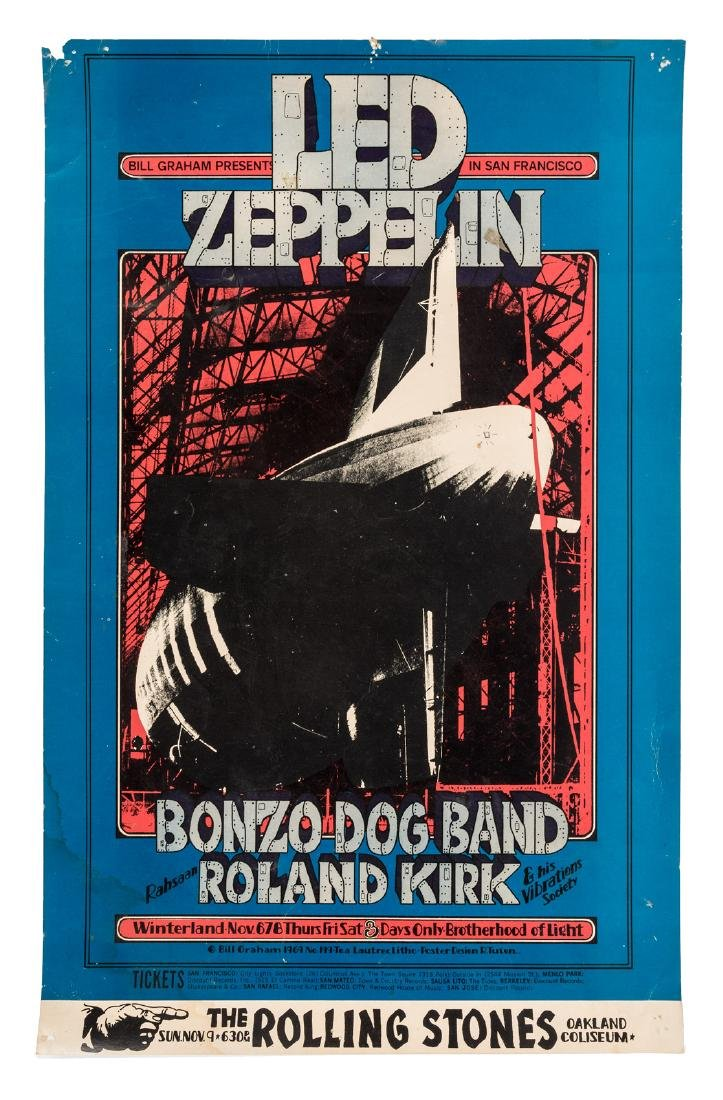 Led Zeppelin at Winterland - November 6-8, 1969