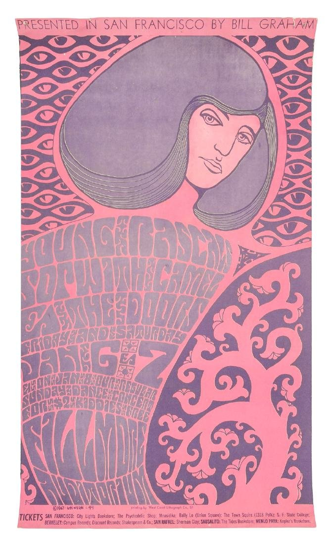 First Doors show at the Fillmore, 1967