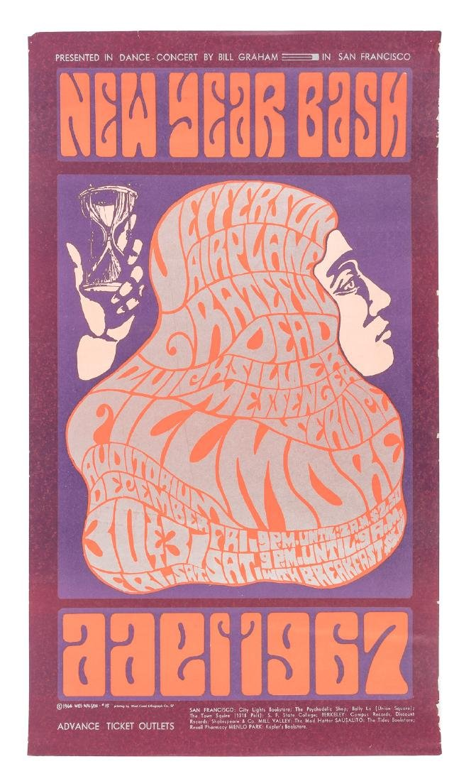 Bill Graham 1966 New Year Bash with the Grateful Dead