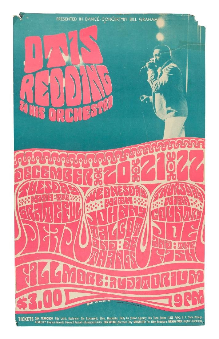 Otis Redding at the Fillmore, 1966