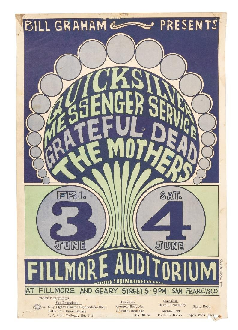 Quicksilver Messenger Service, Grateful Dead at the
