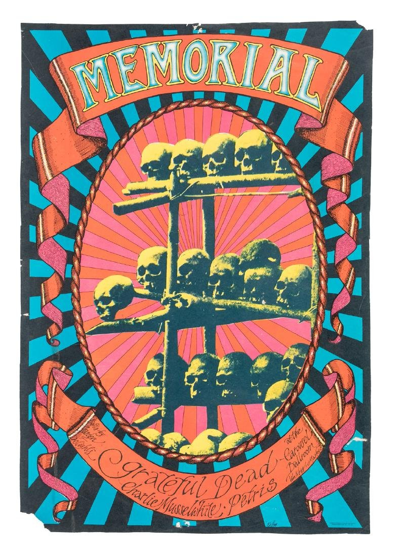 Grateful Dead Memorial Day Show 1st printing