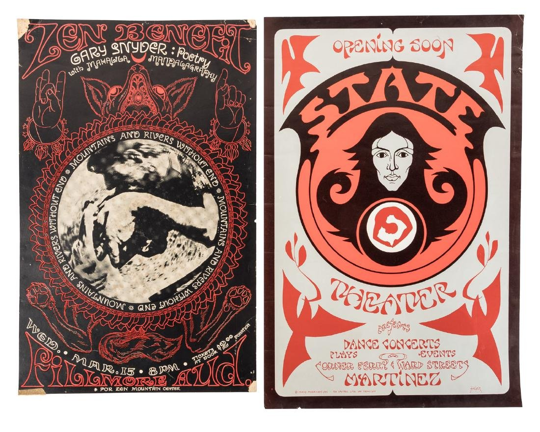 Six Bay Area counterculture posters - 3