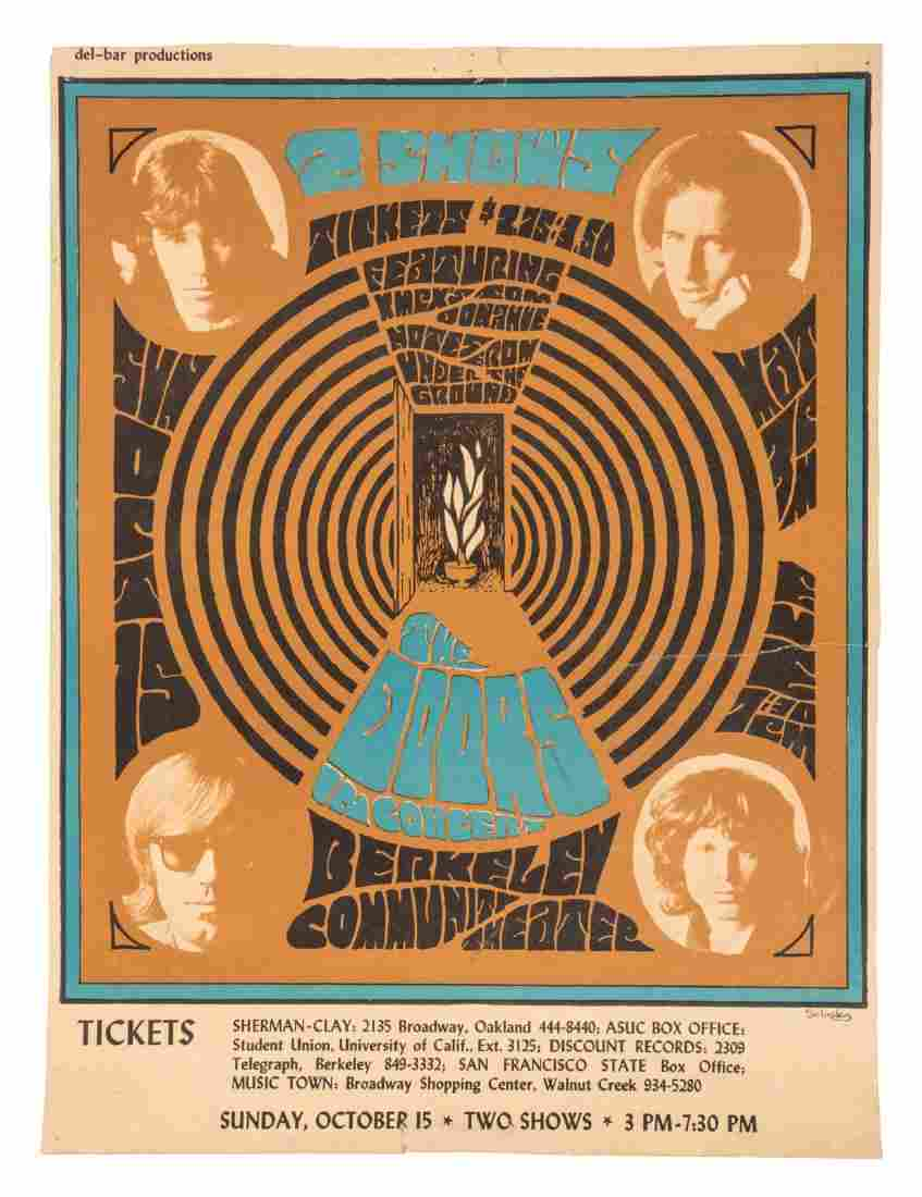 The Doors at Berkeley Community Theater 1967