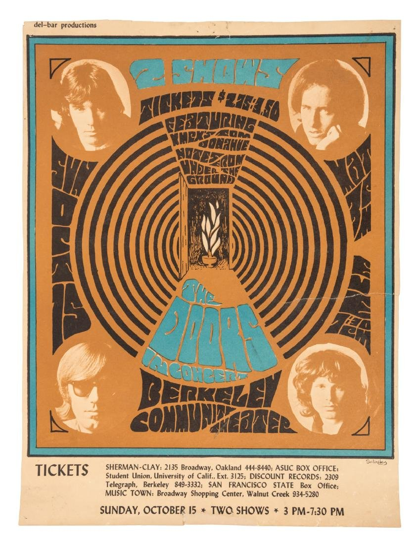 The Doors at Berkeley Community Theater 1967