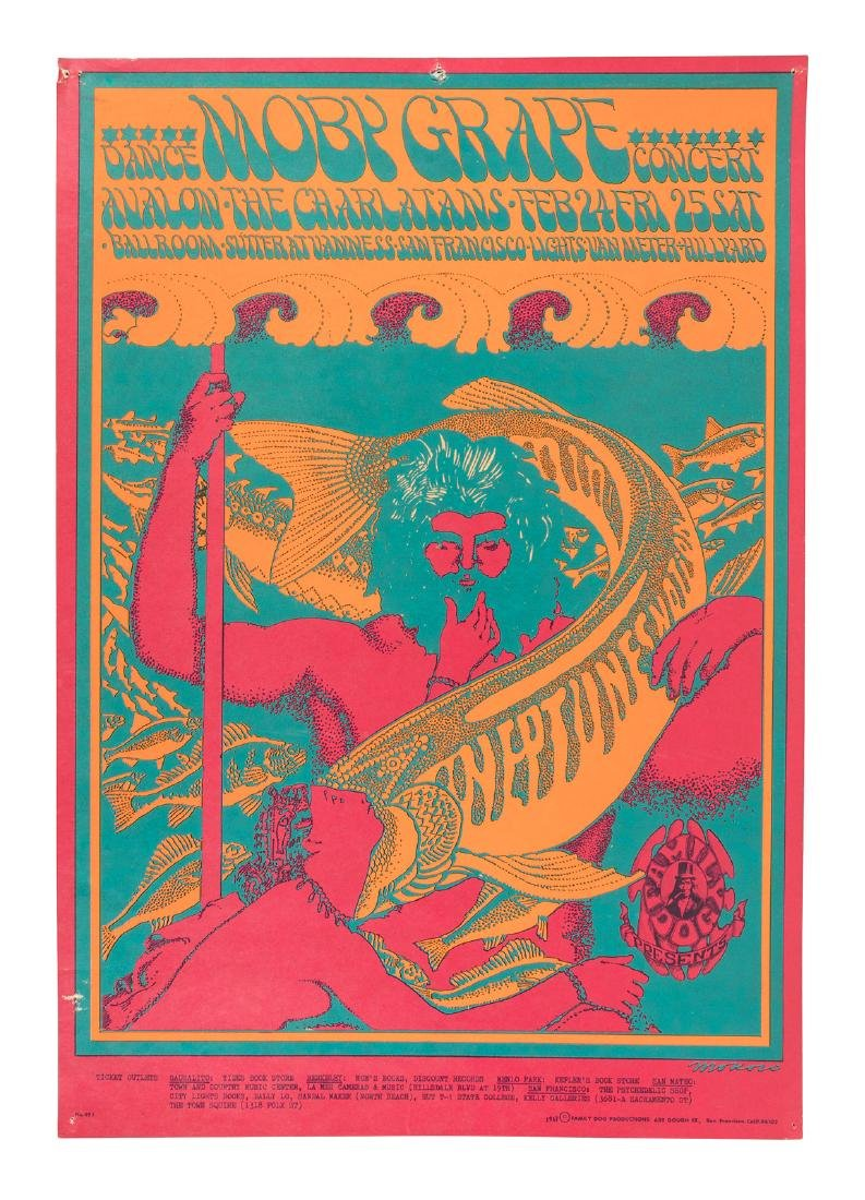 Moby Grape, the Charlatans at the Avalon Ballroom