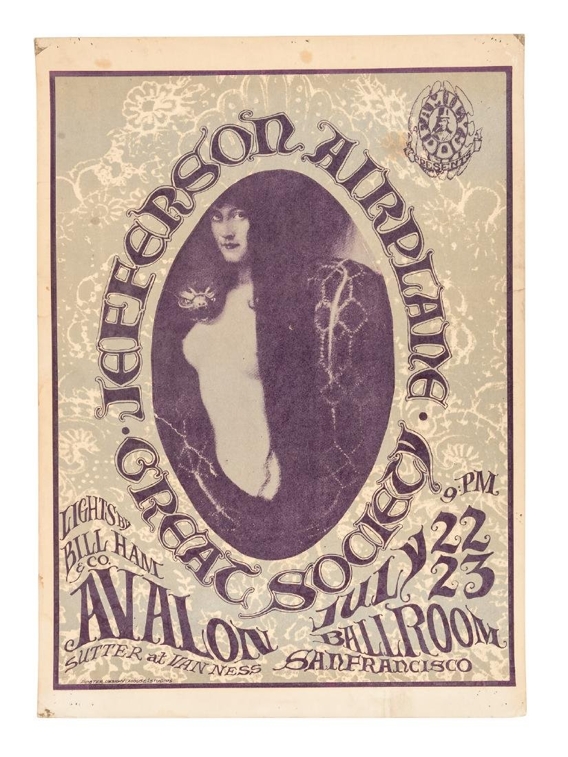 Jefferson Airplane Great Society poster 1966
