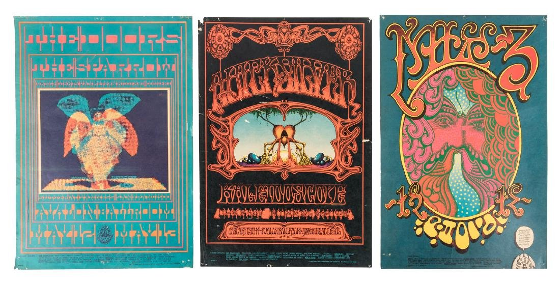 Seven Family Dog Productions concert posters