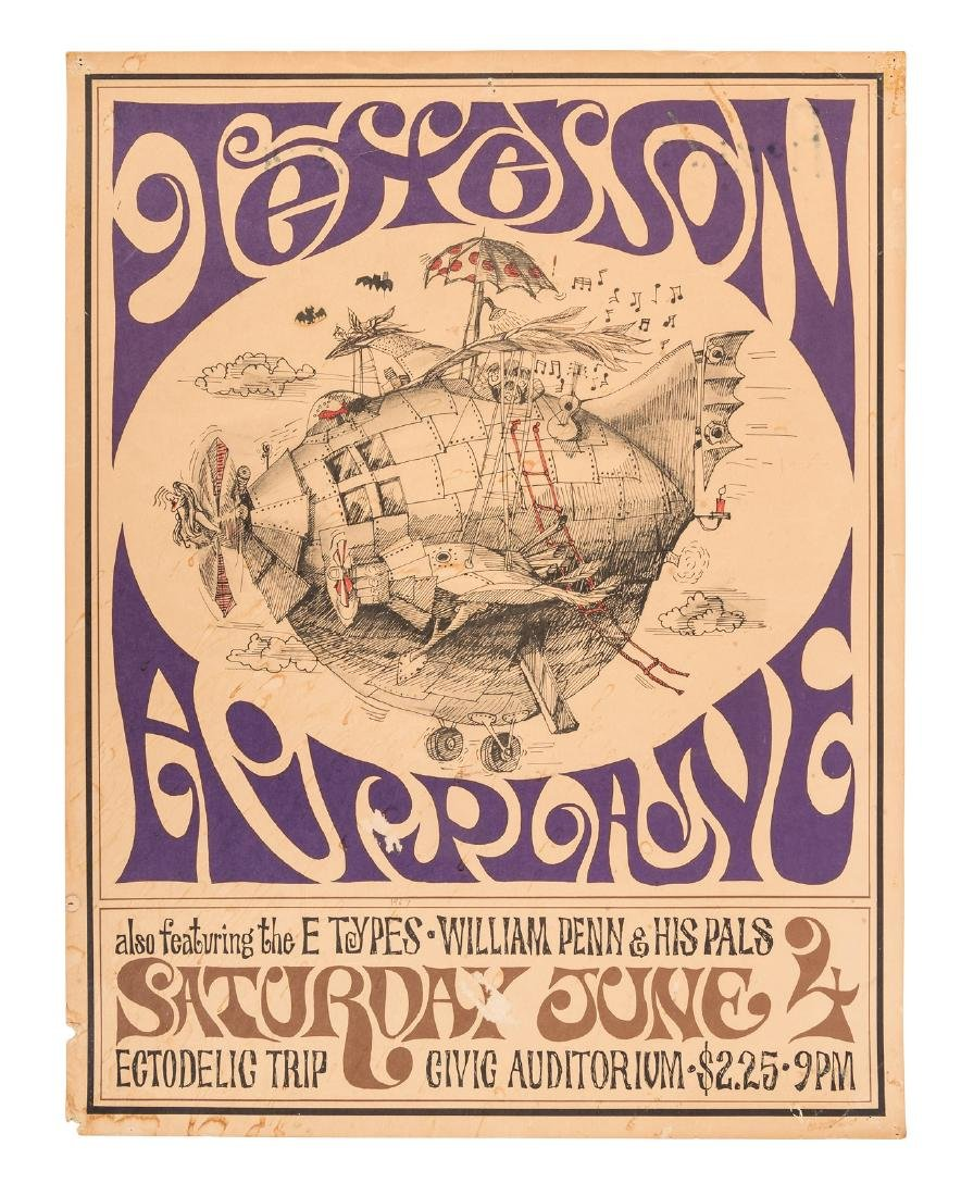Jefferson Airplane at San Francisco Civic June 4, 1966
