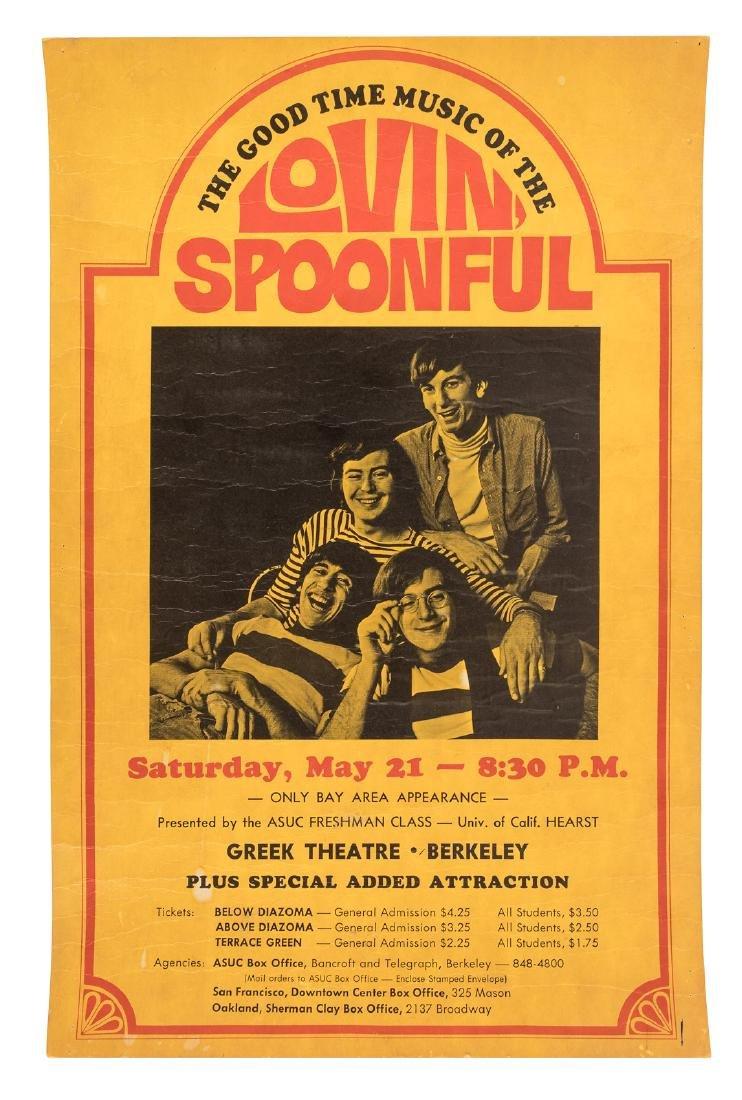 Lovin' Spoonful at Berkeley, 1966