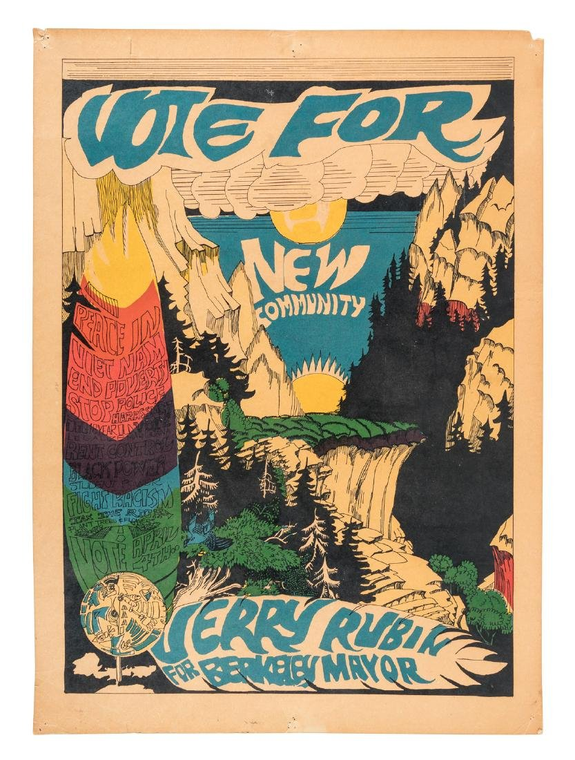 Jerry Rubin for Berkeley Mayor 1967