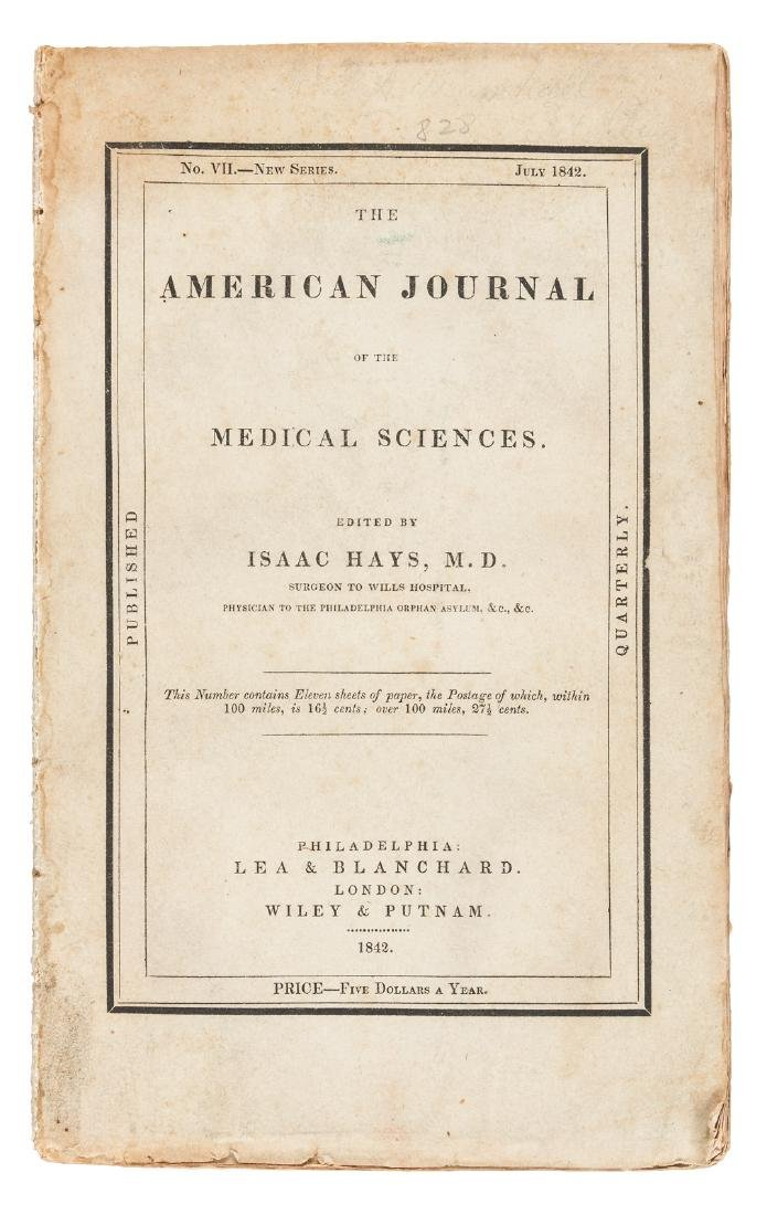 American Journal of the Medical Sciences 1842