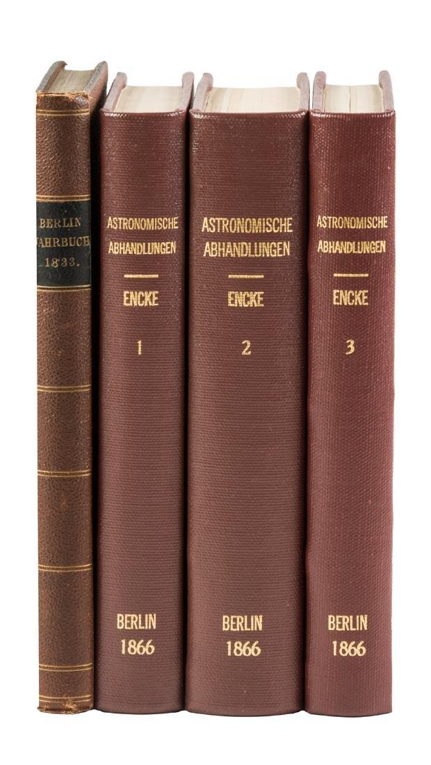 Encke's astronomical observations 1830-1863